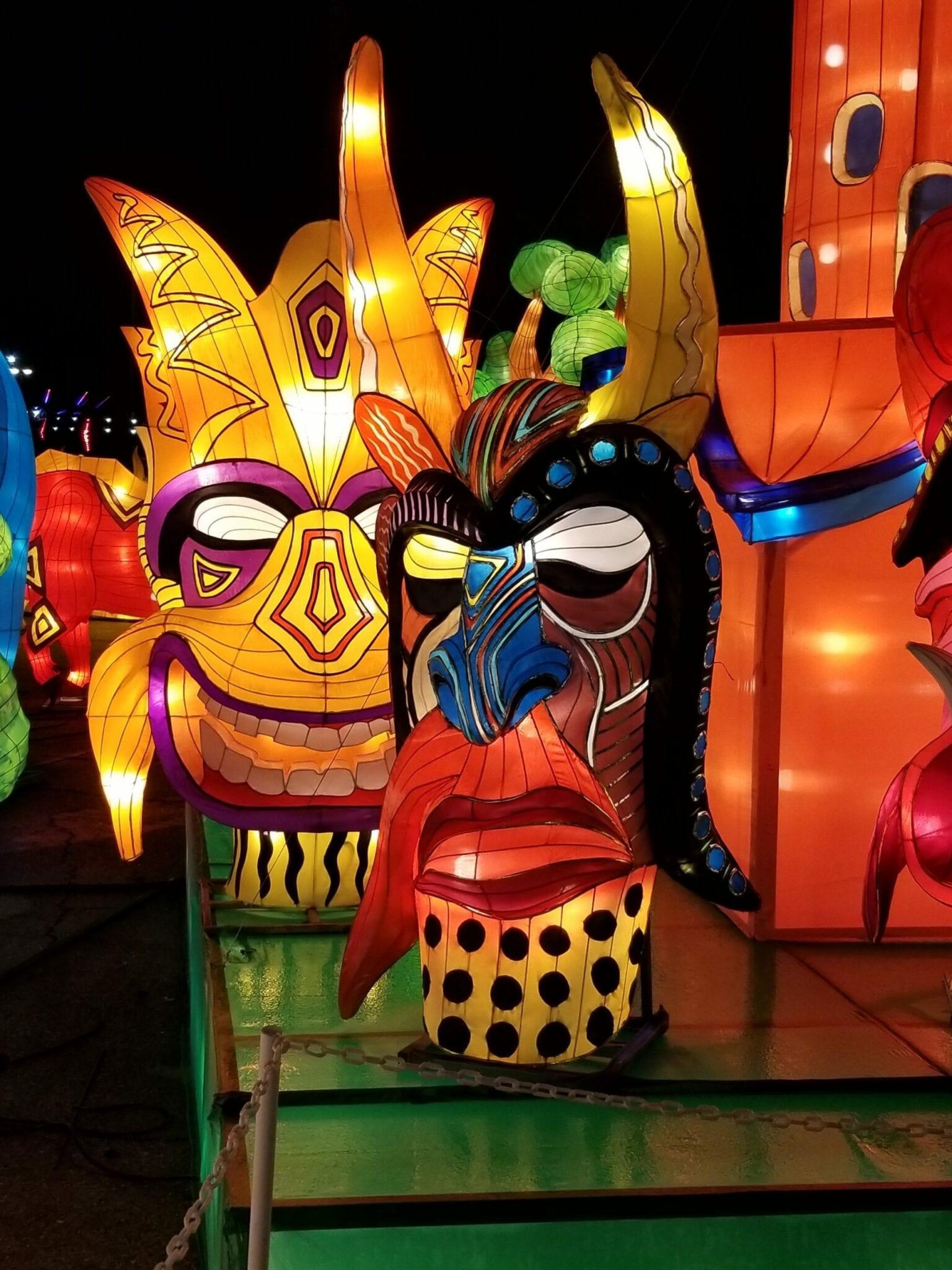 Vegas Lantern Show